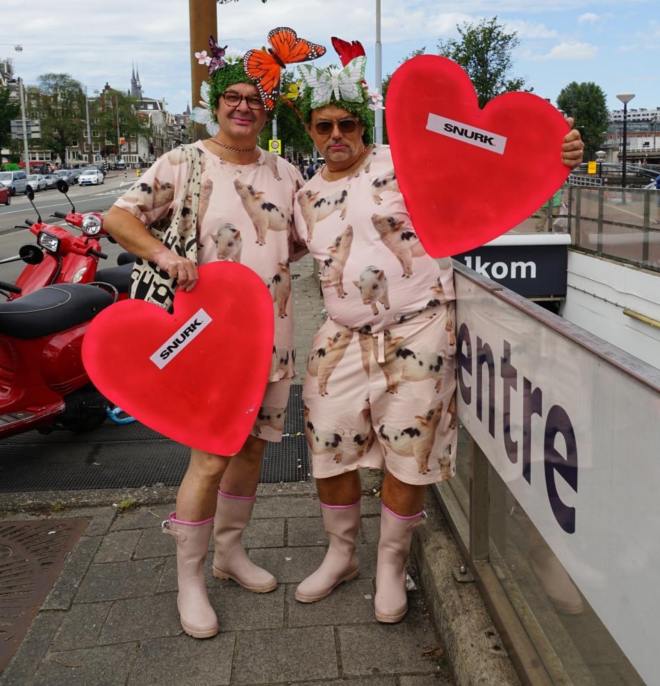 Amsterdam Pride 2017, Canalparade