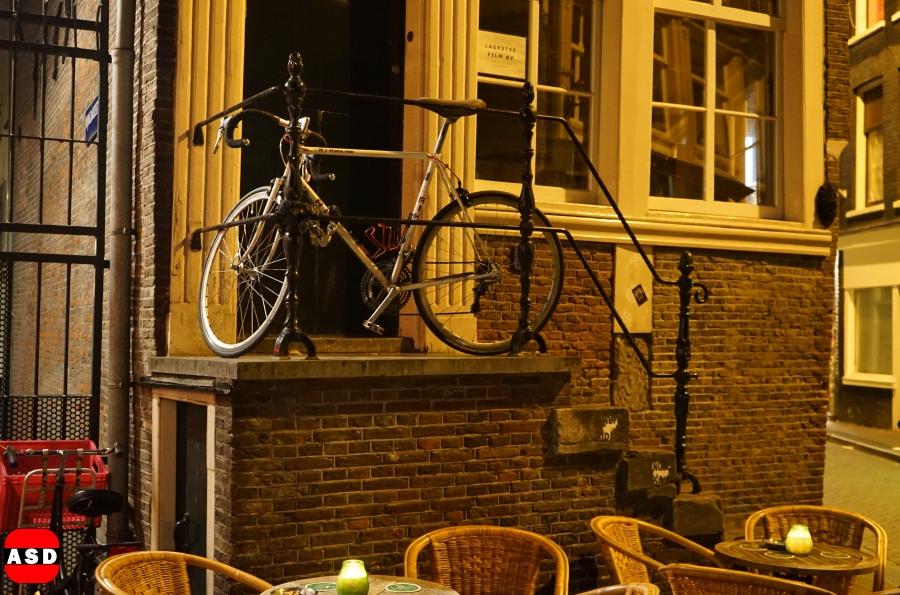 Hoge fiets
