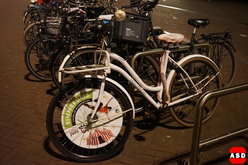 fiets reclame