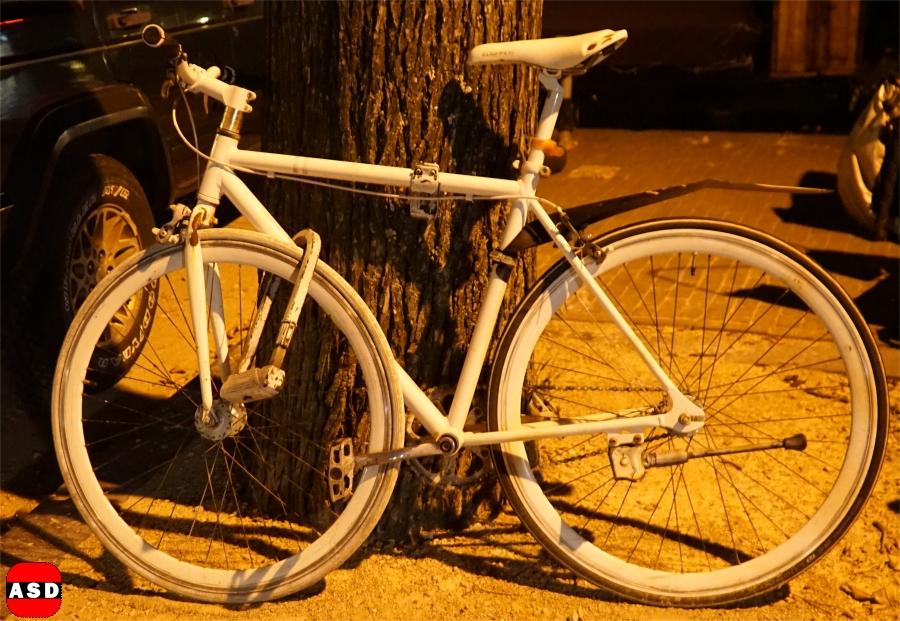 fiets is stuk