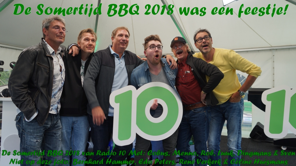 Somertijd BBQ 2018